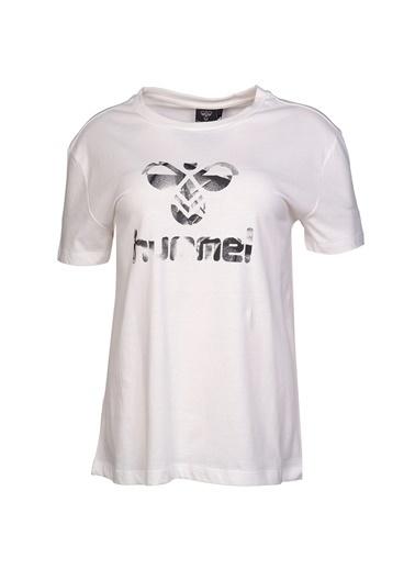 Hummel Kadın Browst Tişört 911033-9003 Beyaz
